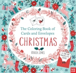 The Coloring Book of Cards and Envelopes: Christmas