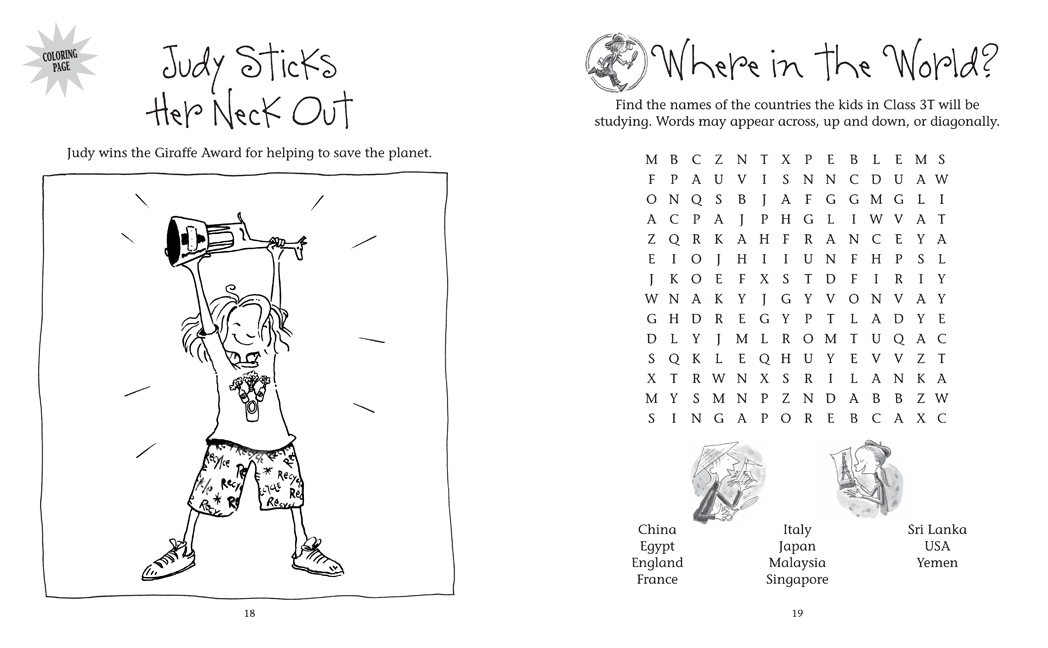 Free Coloring Pages Of Judy Moody Book 1 Judy Moody Coloring Pages